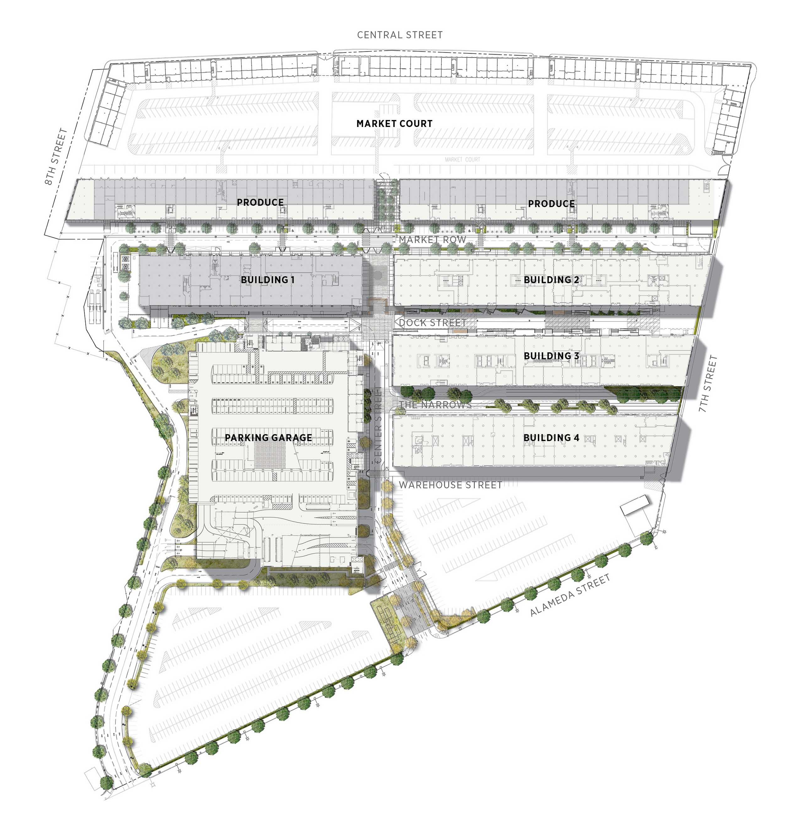 ROQ DTLA Site Plan