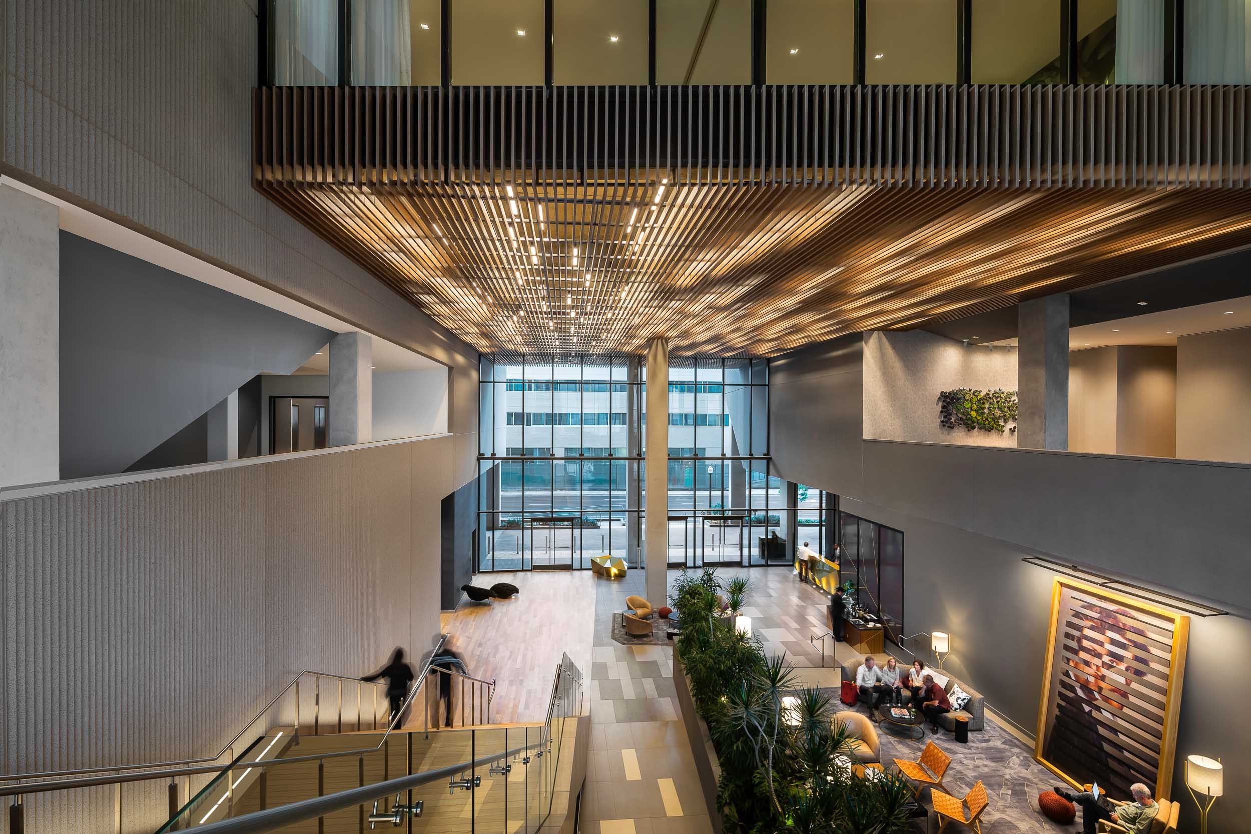 Rios Clementi Hale Studios Designed Multiple Amenity Spaces For The Kimpton  Sawyer Hotel In Sacramento, Including The Conference Areas And The Soaring  Lobby ...