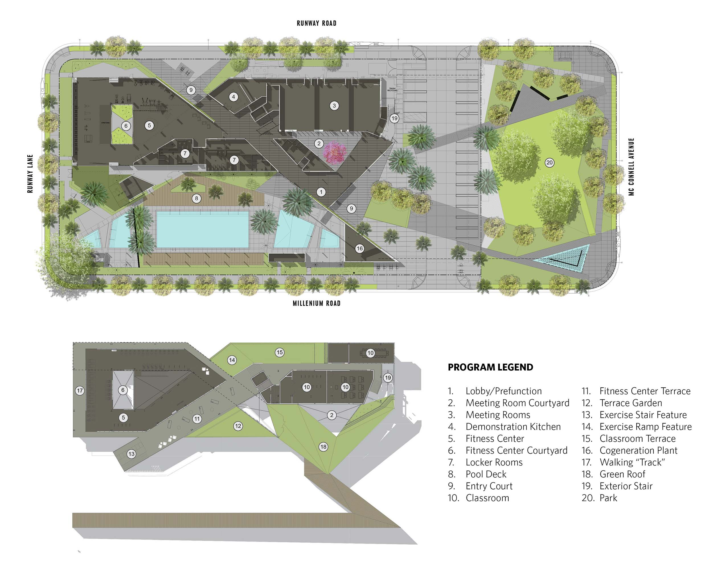 Resort at playa vista rios clementi hale studios for Website build project plan