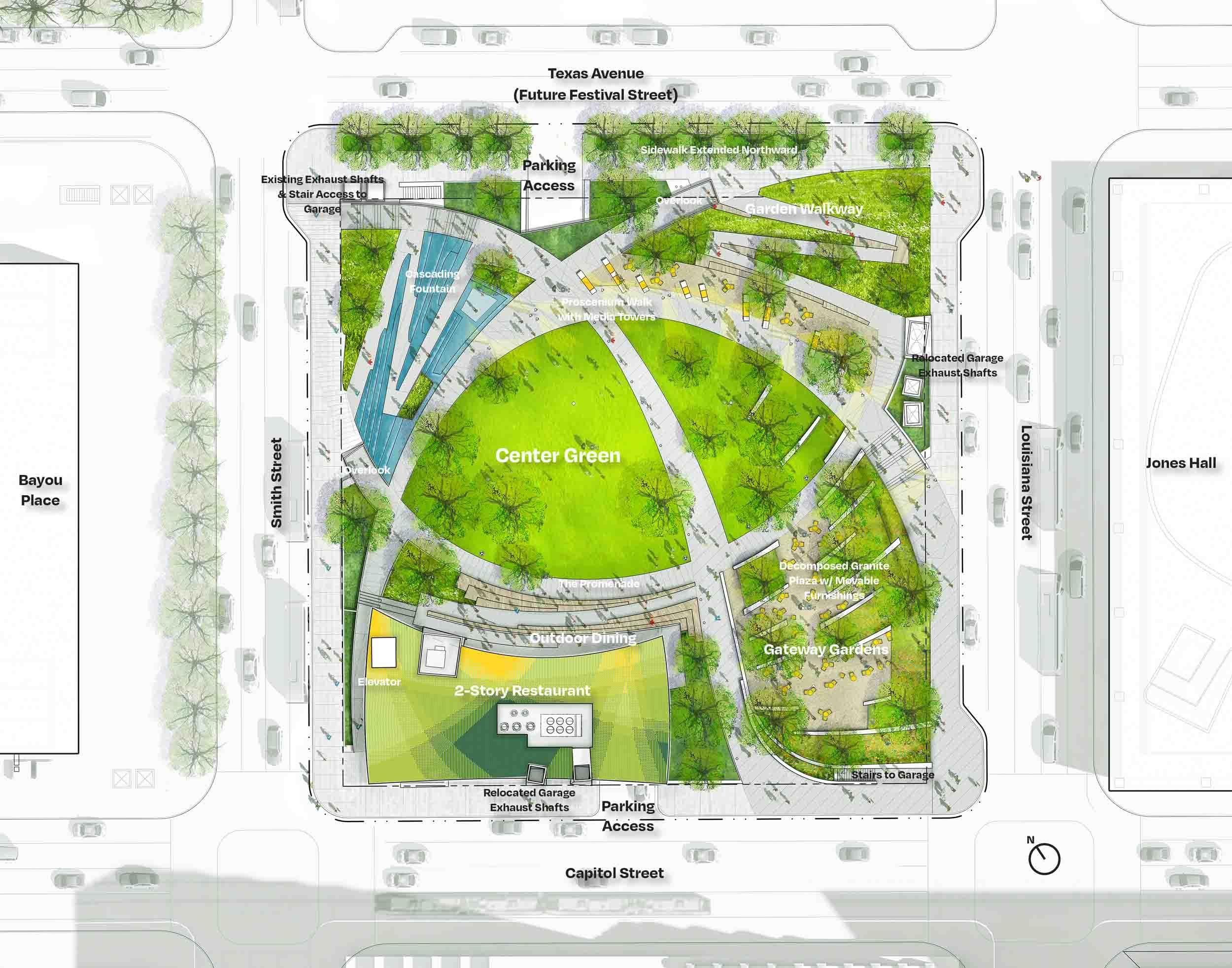 Lynn Watt Square site plan