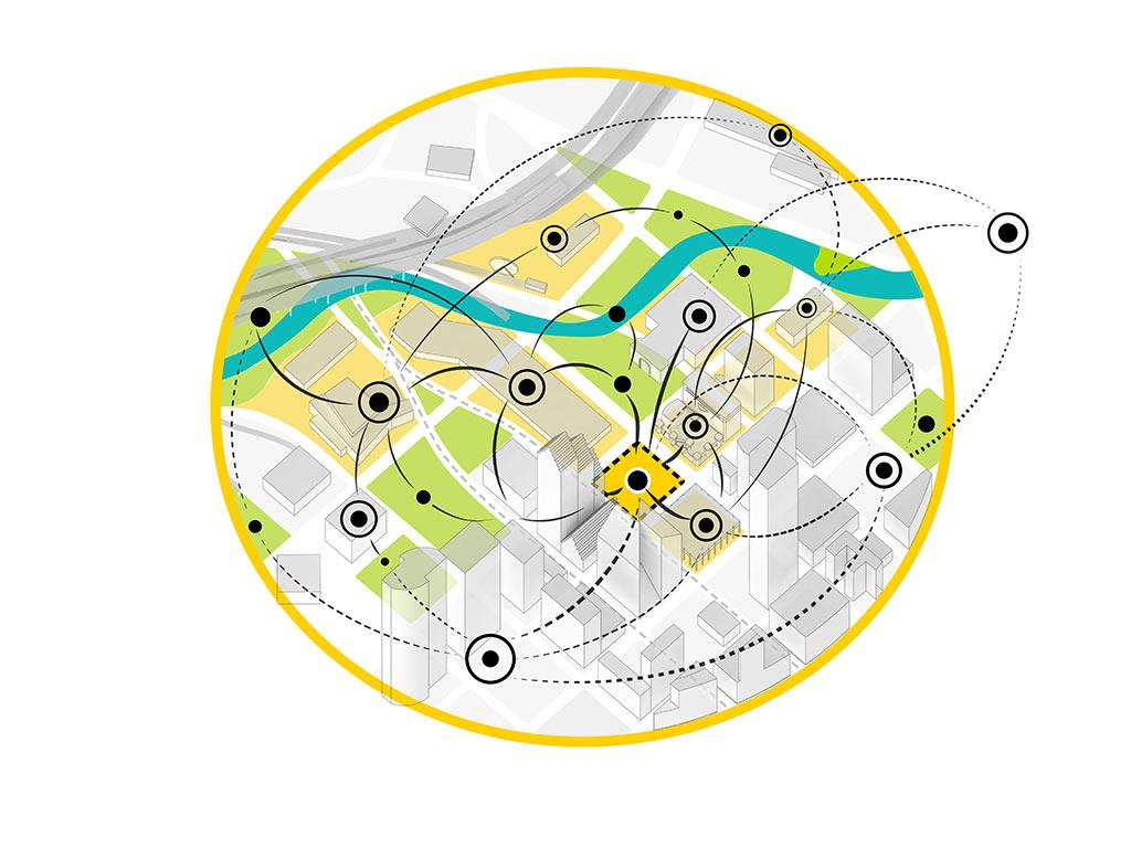 Lynn Wyatt Square park design diagram