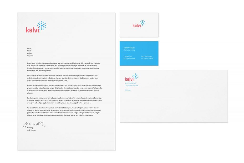 Kelvi branding package