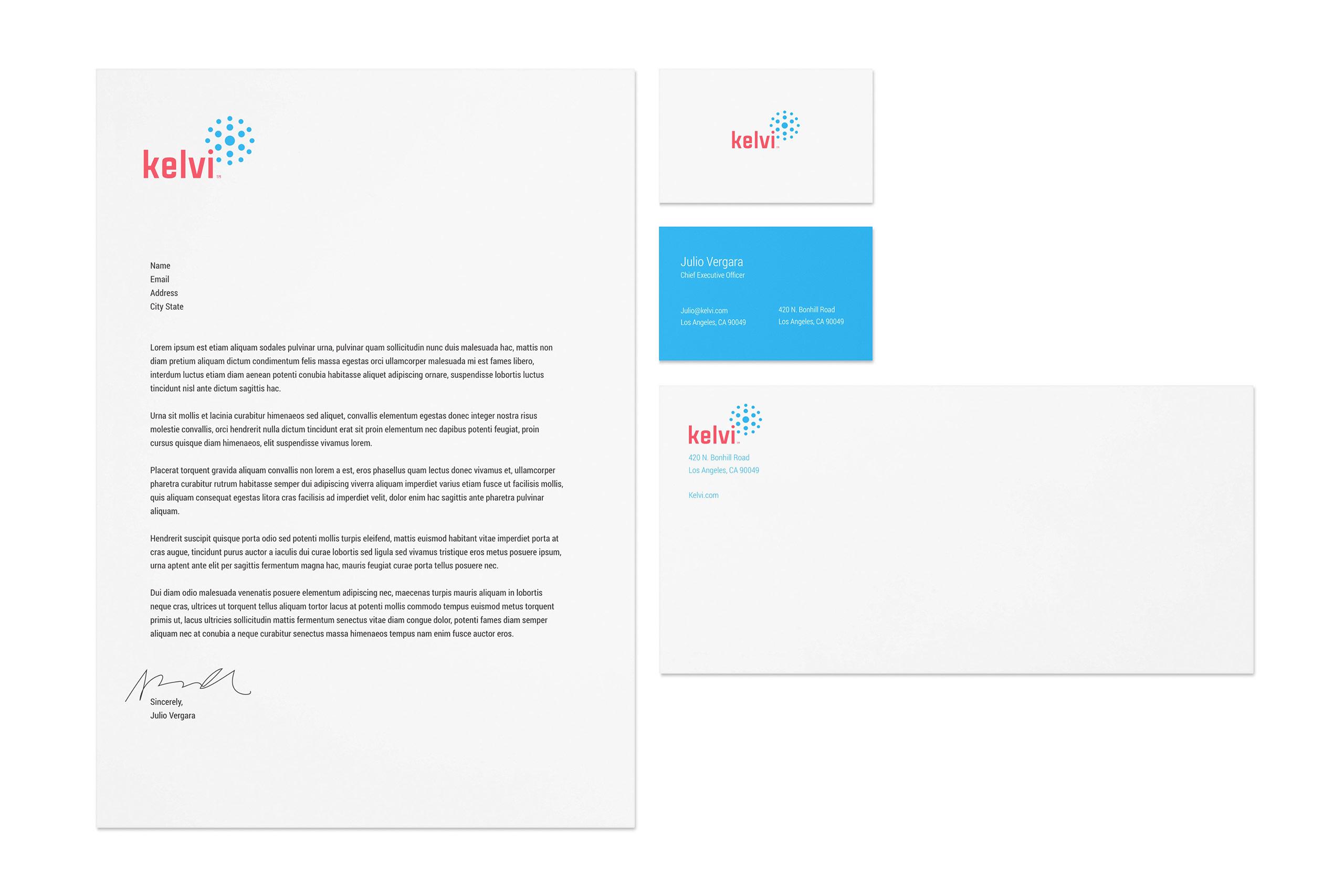 Kelvi branding package