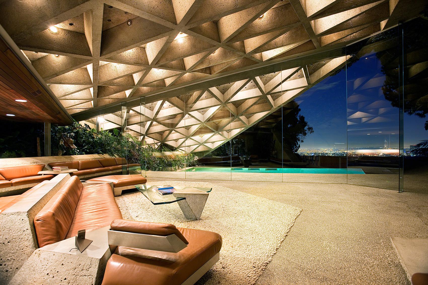 Sheats Goldstein Residence, John Lautner. 1961-3