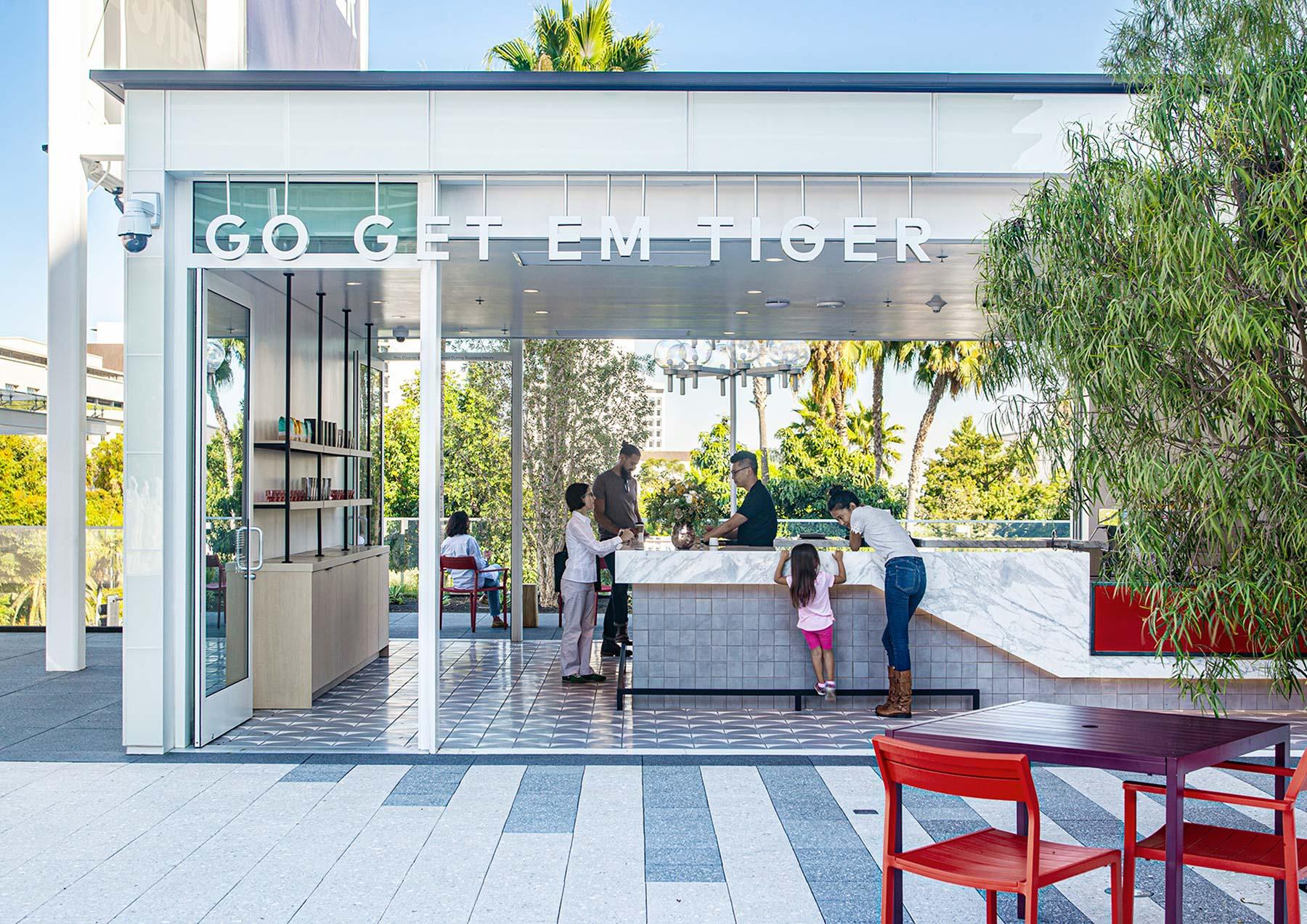 The Music Center Plaza Renovation - Rios Clementi Hale Studios