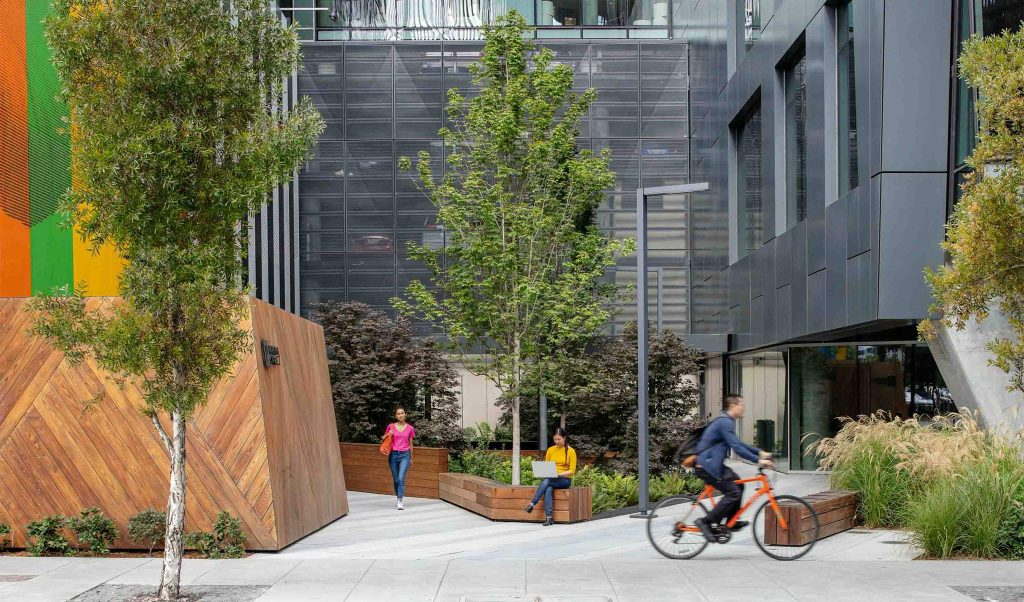 urban design and architecture at San Francisco's The Exchange on 16th