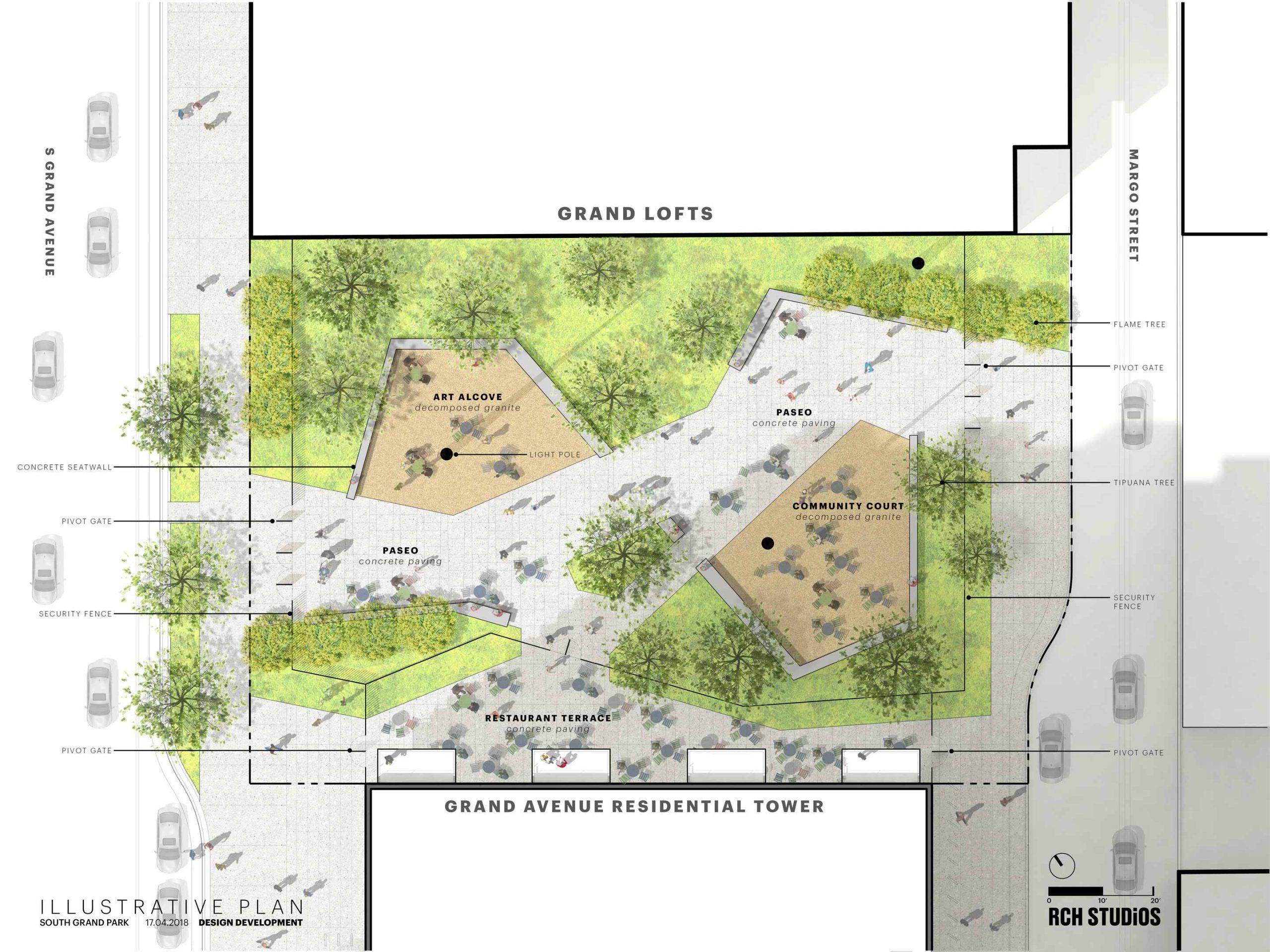 south park commons site plan