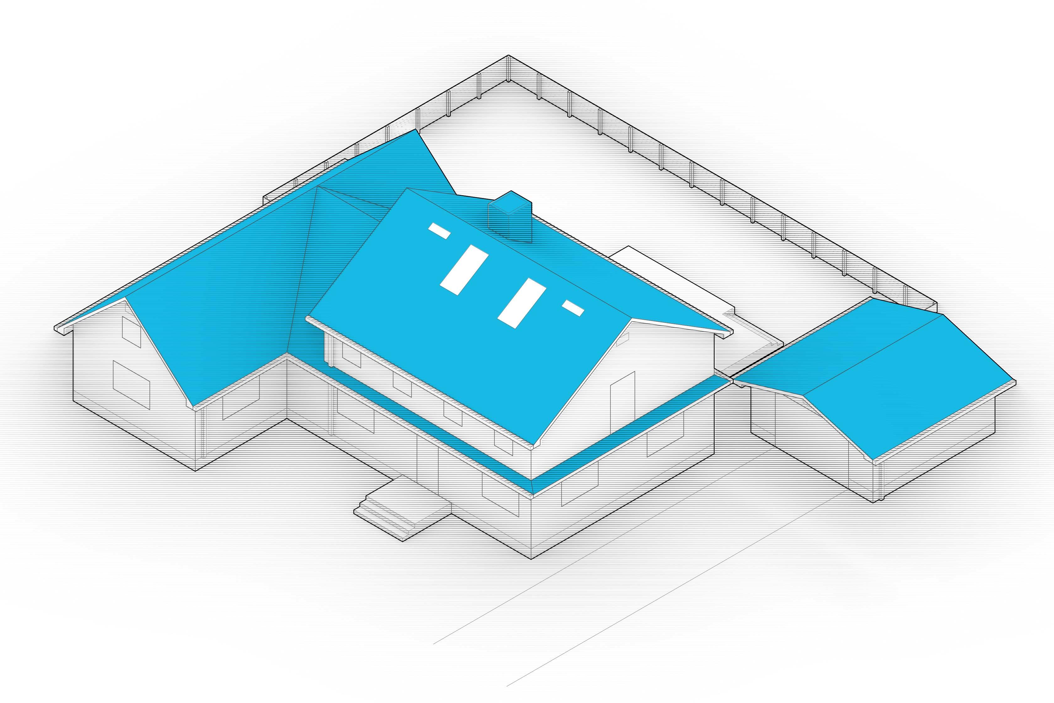 diagram of fire retardant roof