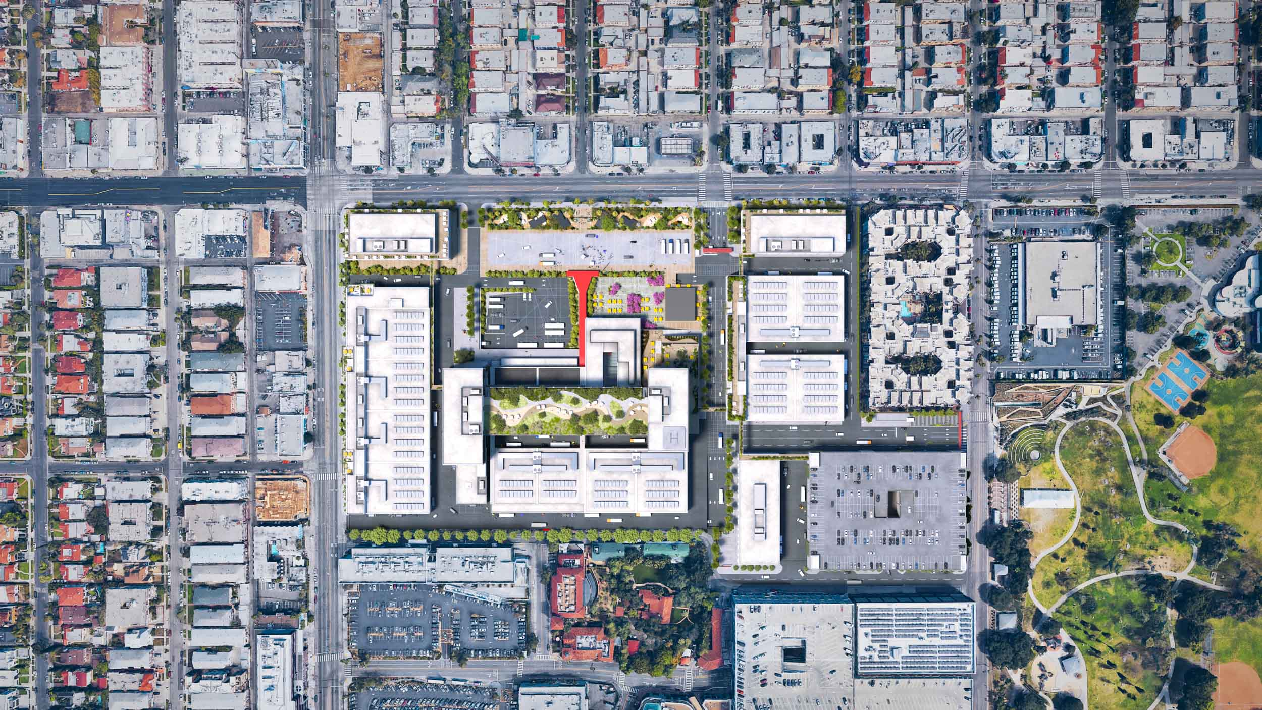 TVC 2050 site plan