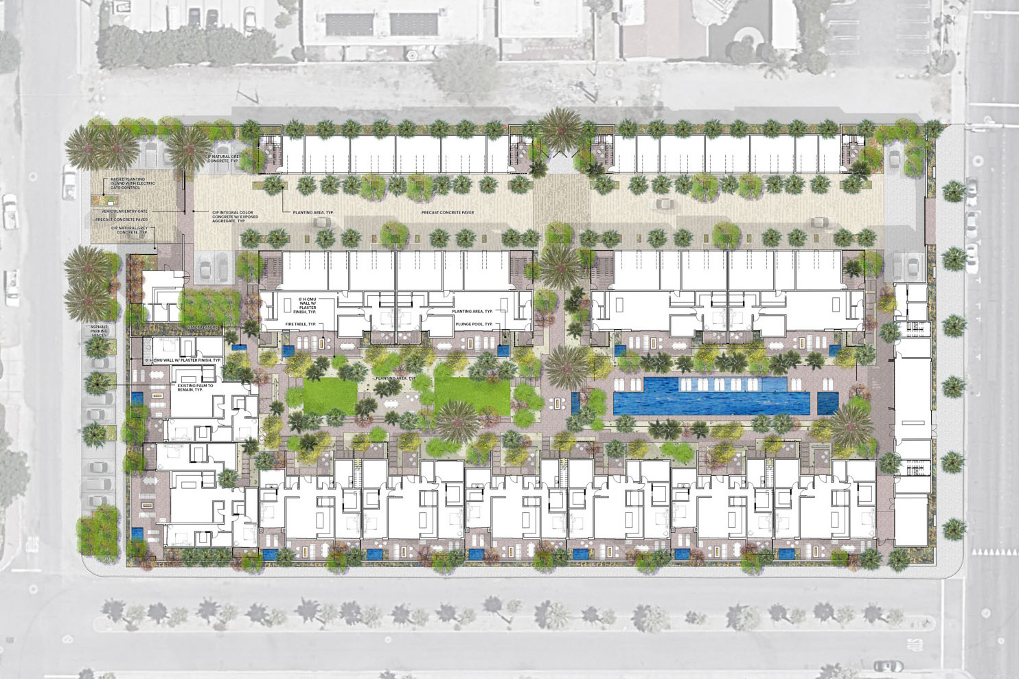 Palm Canyon labeled plans